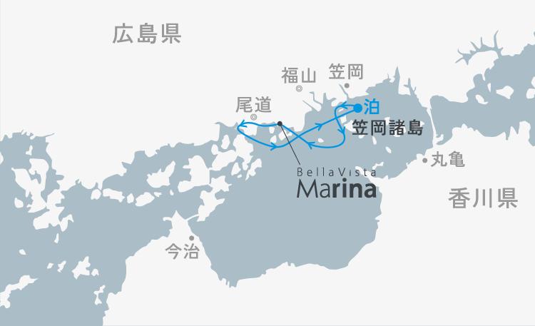 東回り 北木島きたぎしま沖錨泊びょうはく 2日間