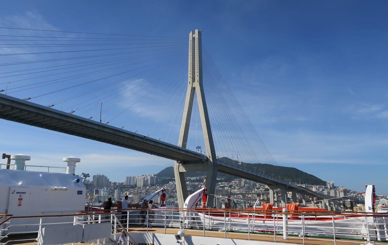 プサン入港2