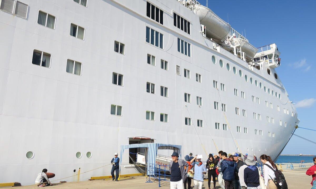 オーシャンドリーム号船体画像