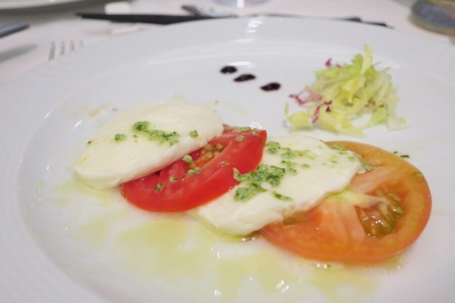 コスタネオロマンチカ レストラン ボッティチェリ 夕食3