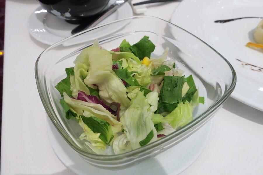 コスタネオロマンチカ レストラン ボッティチェリ 夕食4