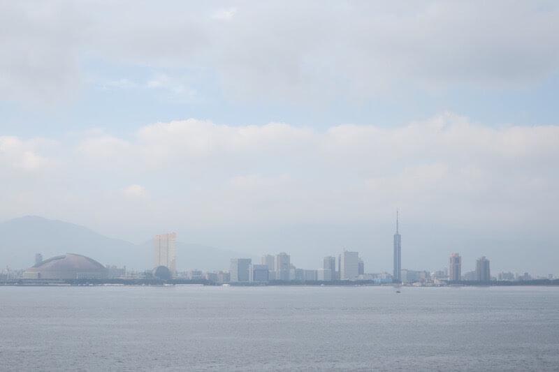 コスタネオロマンチカ 博多港入港シーン1