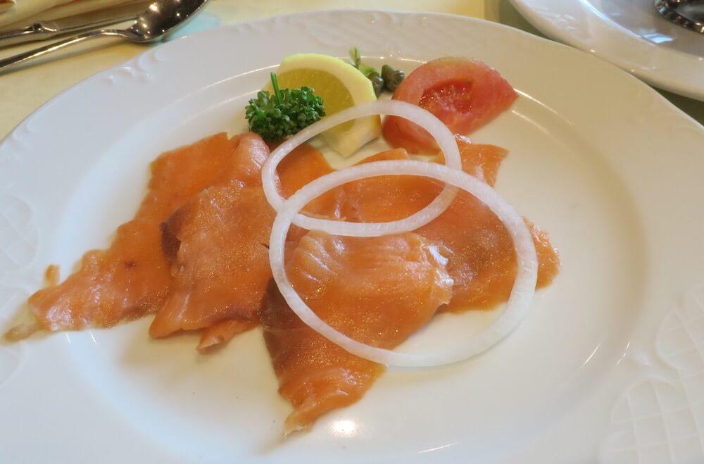 MSCスプレンディダ メインレストラン 朝食7