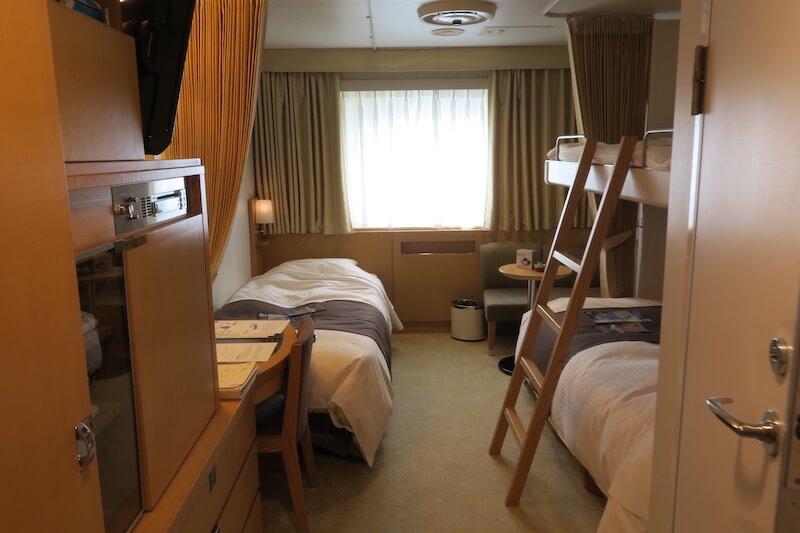 にっぽん丸 客室1