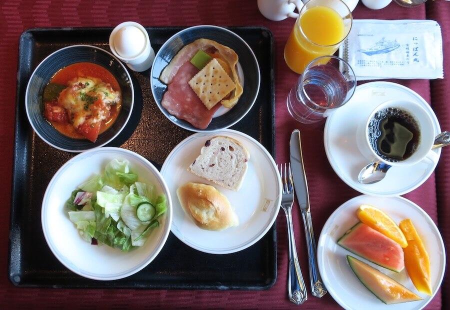 にっぽん丸 朝食