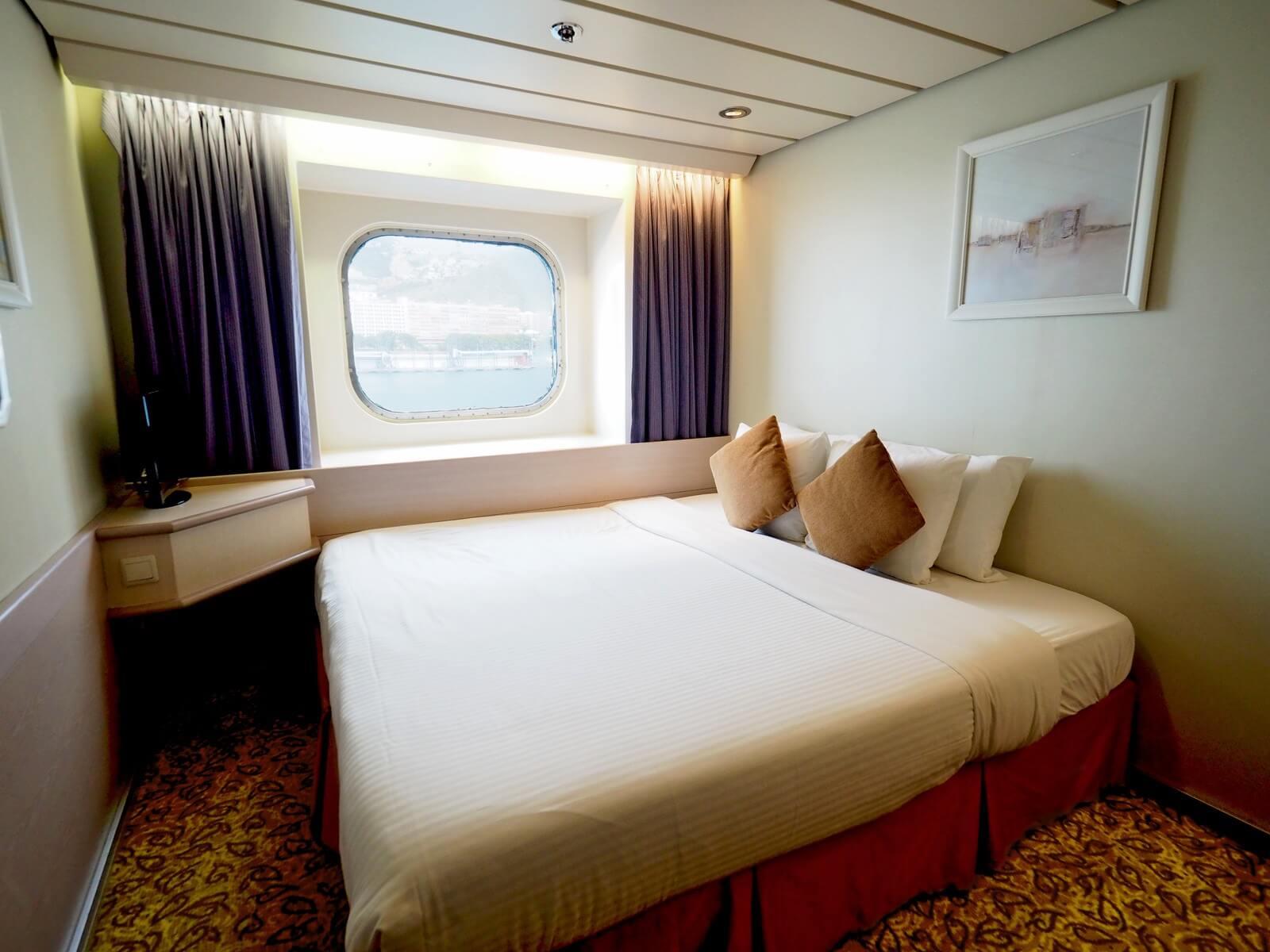 ピースボートプレミアム 客室 シングルタイプ