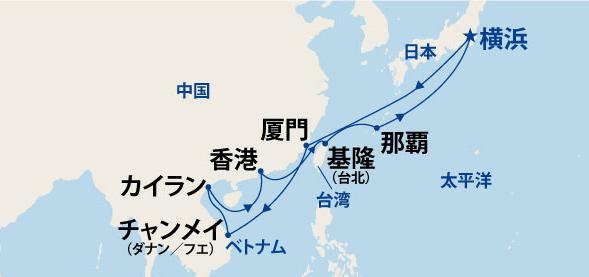 1/13発 東南アジア大航海 16日間