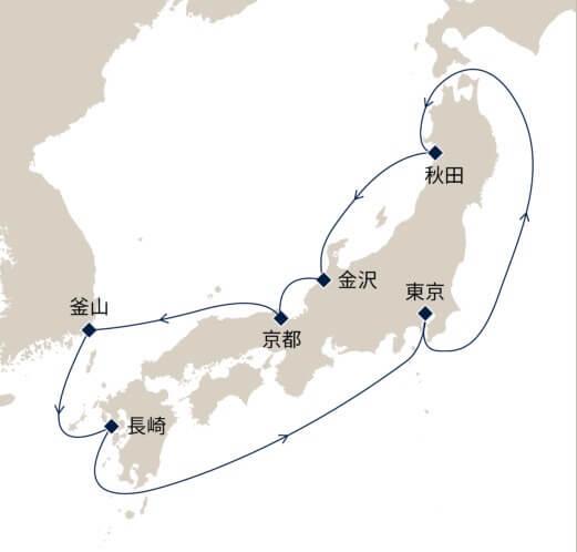 秋麗の日本周遊10日間