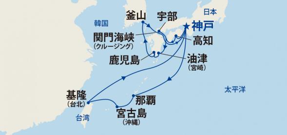 南国の地巡りと韓国・台湾 15日間
