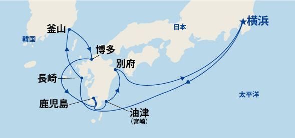 九州周遊と韓国 10日間(A)