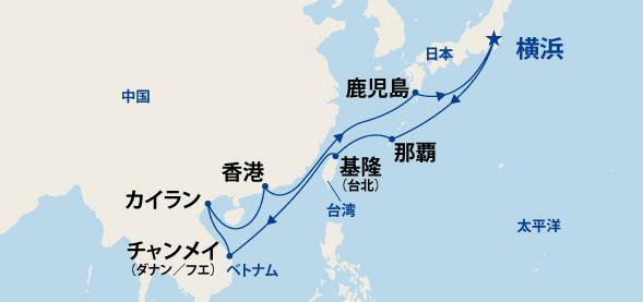 東南アジア大航海 16日間