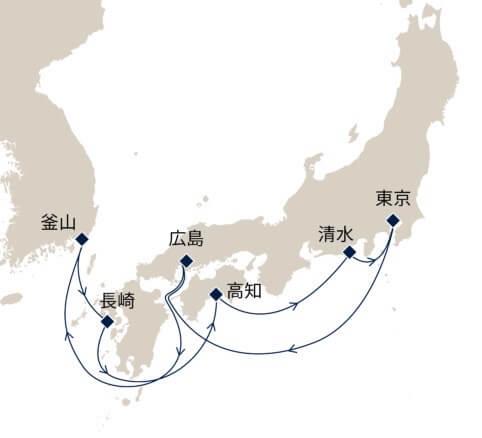 秋の西日本歴史名所探訪10日間