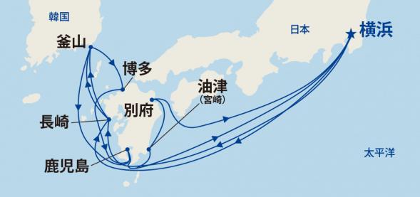 九州周遊と韓国 16日間