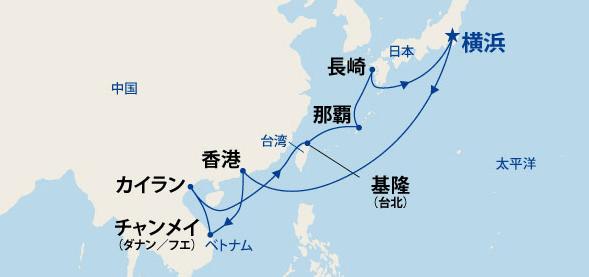 オリエンタル紀行 東南アジアと沖縄・長崎 16日間