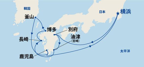 九州周遊と韓国 10日間(B)