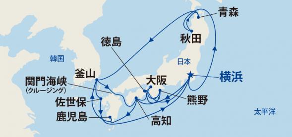 日本の夏!竿燈・ねぶた・よさこい・阿波おどりと熊野大花火・韓国 19日間