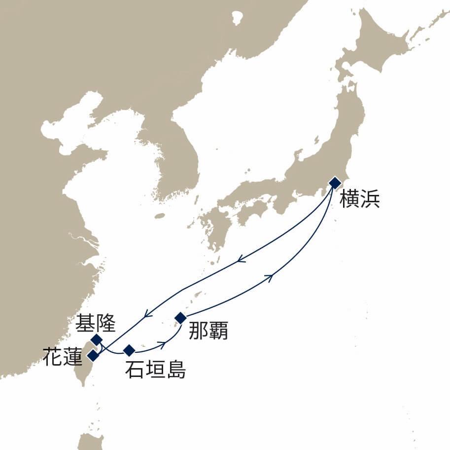 春の沖縄リゾートと台湾クルーズ