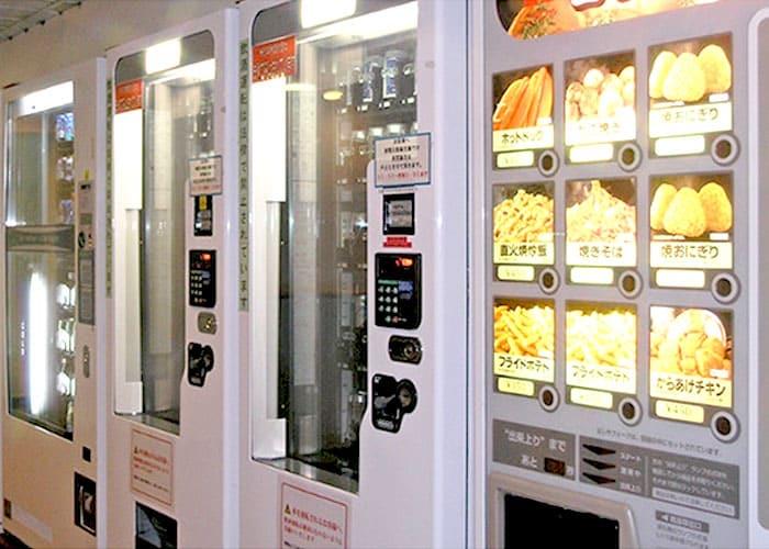 新日本海フェリー 自販機コーナー