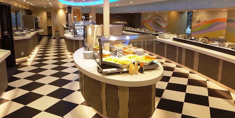 三井商船フェリー レストラン2