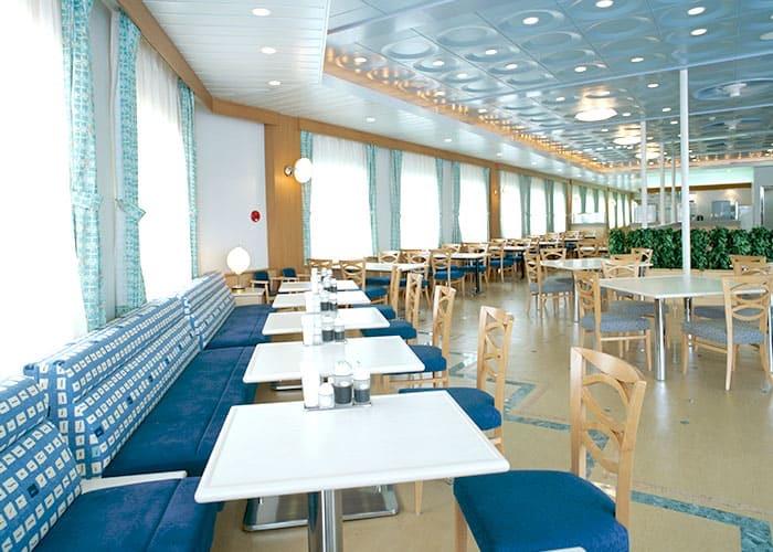新日本海フェリー レストラン