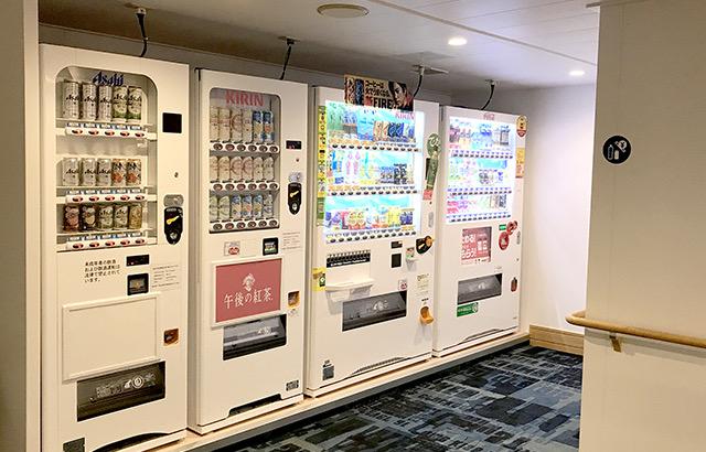 阪九フェリー 自販機コーナー