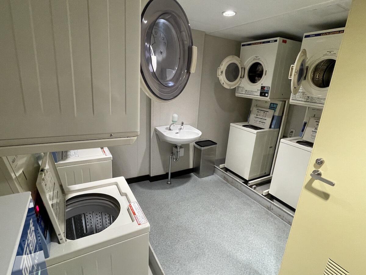 新日本海フェリー ランドリールーム
