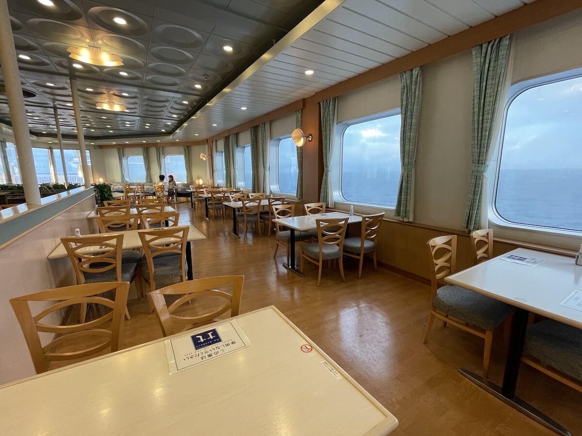 新日本海フェリー レストラン4