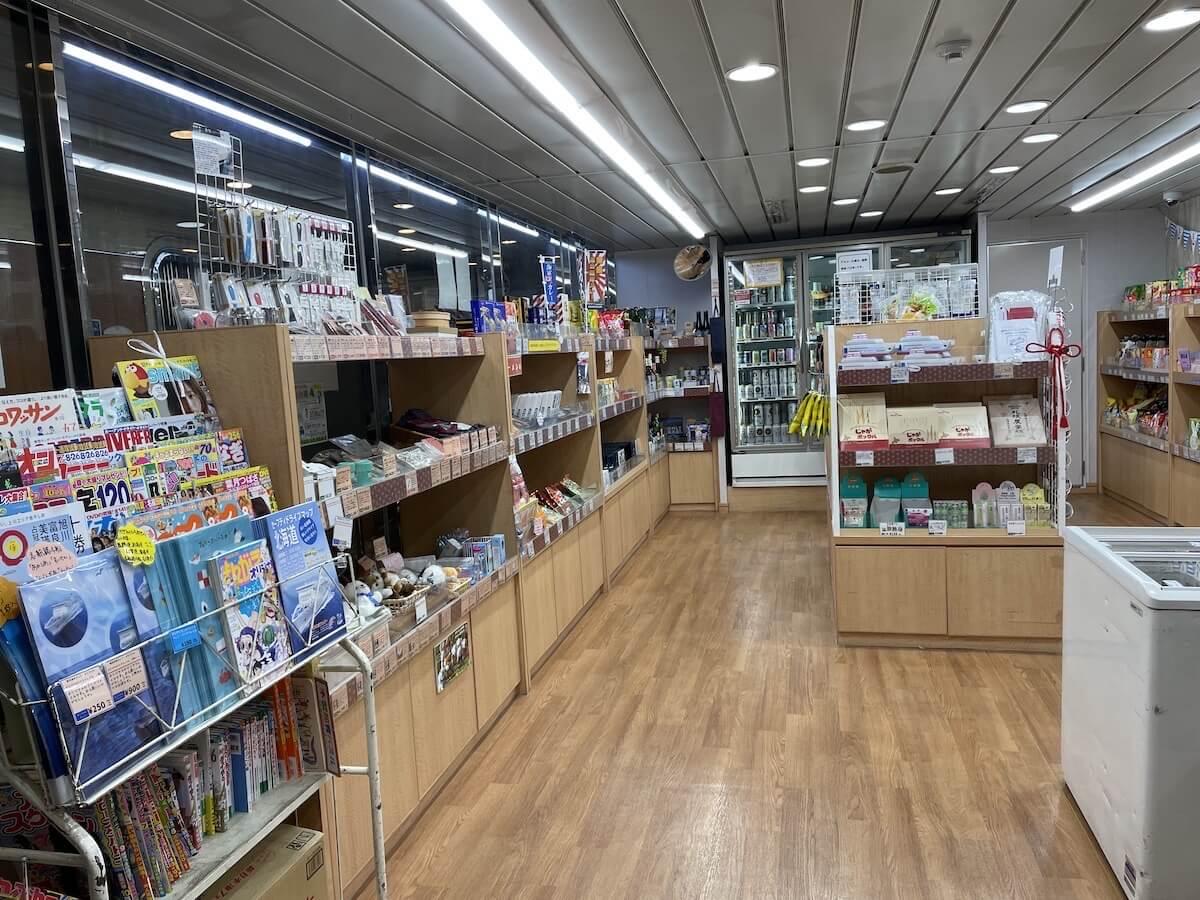 新日本海フェリー売店1
