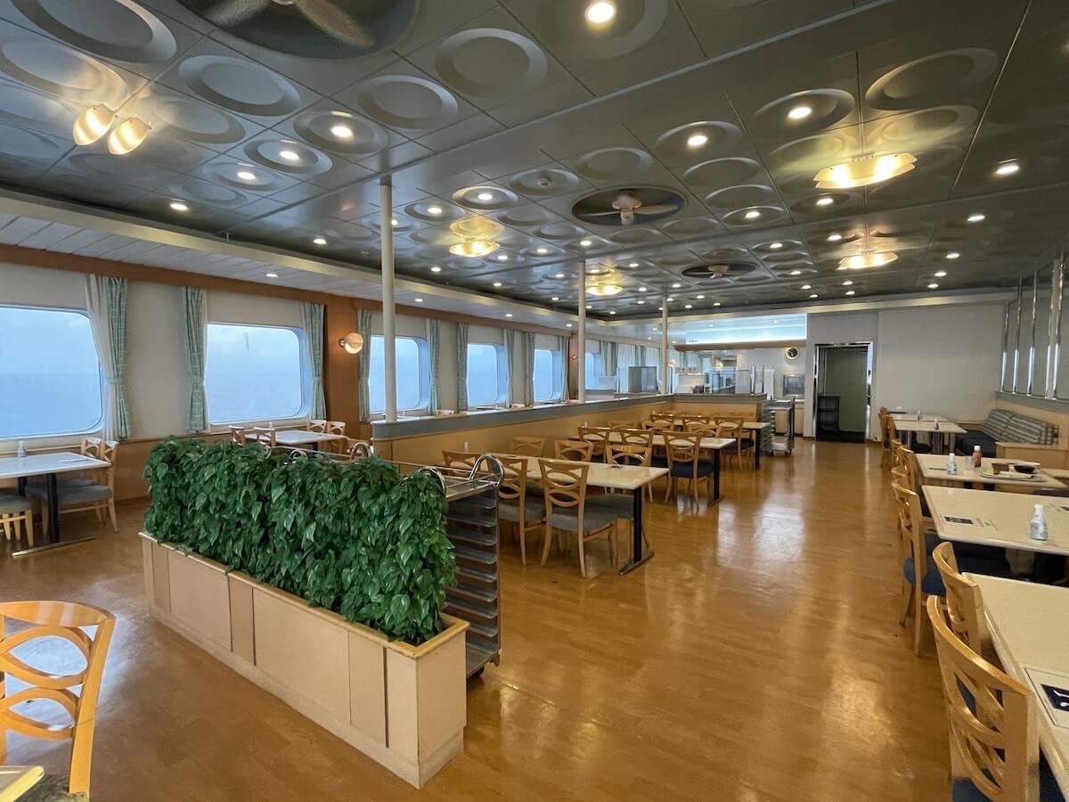 新日本海フェリー レストラン3
