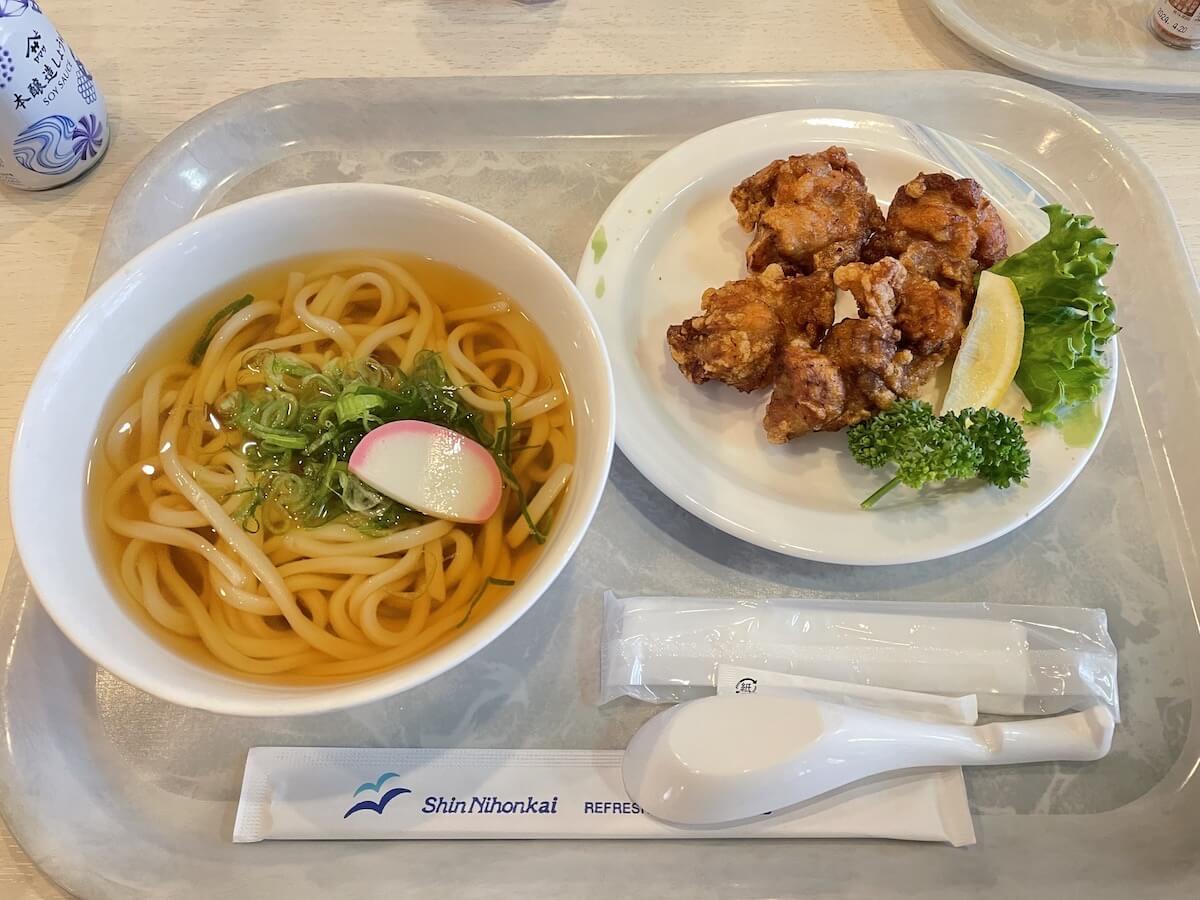 新日本海フェリー レストラン5
