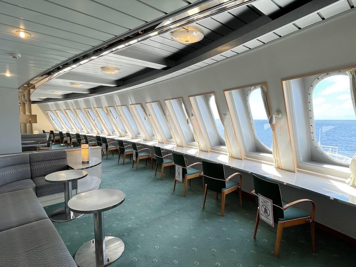 新日本海フェリー フォワードサロン1