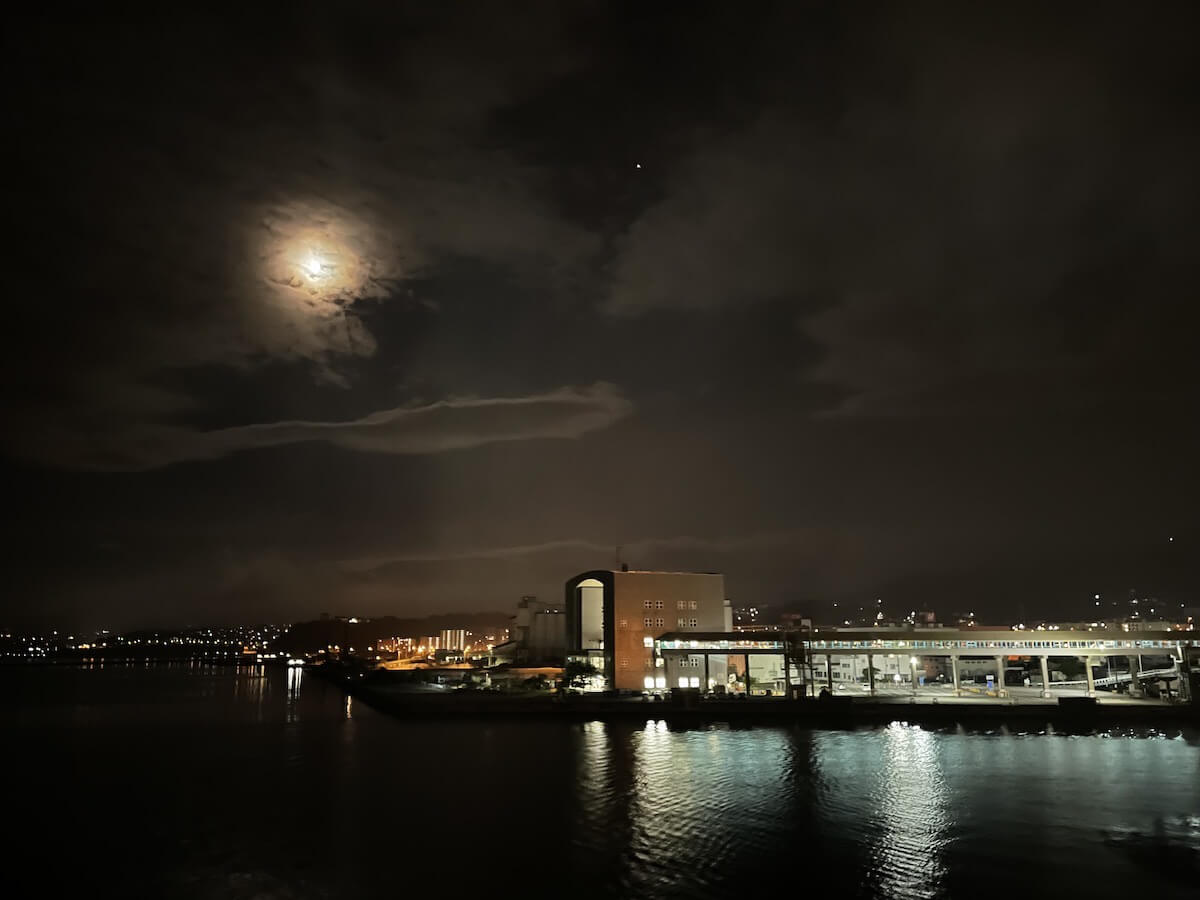 新日本海フェリー出港風景2